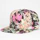 Hawaiian Floral Snapback Hat