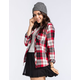 POLLY & ESTHER Logan Womens Flannel Shirt