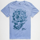 IMPERIAL MOTION Surf Skull Color Changing Mens T-Shirt