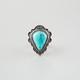 FULL TILT Turquoise Teardrop Ring