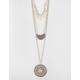 FULL TILT 3 Tier Disc/Bar Necklace