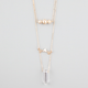 FULL TILT 3 Tier Crystal Necklace