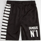 FAMOUS STARS & STRAPS N Star Mens Mesh Shorts