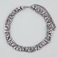 FULL TILT Chain/Rhinestone Braided Necklace