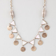 FULL TILT Triangle Disc Necklace