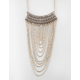 FULL TILT Ethnic Bar Fringe Necklace