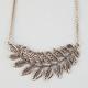 FULL TILT Large Leaf Necklace
