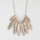 FULL TILT Leaf Statement Necklace