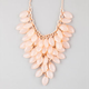 FULL TILT Shower Statement Necklace