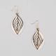 FULL TILT Diamond Dust Leaf Earrings