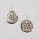 FULL TILT Diamond Dust Medallion Earrings