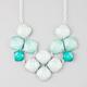 FULL TILT Tonal Mint Stone Statement Necklace