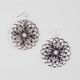 FULL TILT Glitter Medallion Earrings