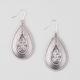 FULL TILT Tear Drop Crystal Earrings