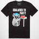 RIOT SOCIETY Koalafied Mens Tee