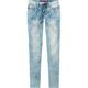 YMI Cloud Wash Girls Knit Denim Pants