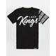 LAST KINGS Checked Boys T-Shirt