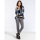 FULL TILT Womens French Terry Jogger Pants