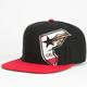 FAMOUS STARS & STRAPS Bear Badge Mens Snapback Hat
