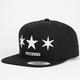 FAMOUS STARS & STRAPS Tri Star Mens Snapback Hat