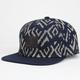 LIRA Zig Zag Aztec Mens Snapback Hat