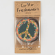 3 Pack Peace Sign Air Fresheners