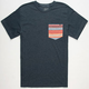 LOST Cinco De Mens Pocket Tee