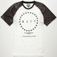 NEFF Black Rose Raglan Mens T-Shirt