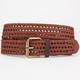 Whipstitch Braided Belt