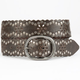 Daisy Perforated Stud Belt