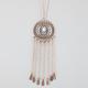FULL TILT Medallion Fringe Necklace