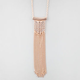 FULL TILT Geo Fringe Necklace