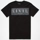 CIVIL Box Mens T-Shirt