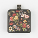 Dark Vintage Floral Print Portable Battery Pack
