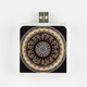 Tribal Round Print Portable Battery Pack