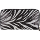 Zebra Sequin Wallet