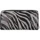 Zebra Sequin Wallet