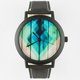 Stained Wood Print Watch