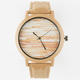 Wood Grain Print Watch