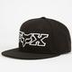 FOX Kicker Logo Womens Snapback Hat