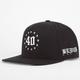 40OZ NYC Blvck Scvle Mens Snapback Hat