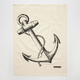 THE RISE AND FALL Anchor Kitchen Towel
