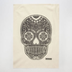 THE RISE AND FALL Skull Kitchen Towel
