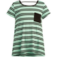 FULL TILT Striped Girls Bar Back Tee