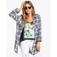 FULL TILT Tommy Womens Boyfriend Shirt