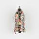 Dark Vintage Floral Print USB Car Charger