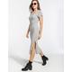FULL TILT Ribbed Midi Dress