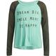 FULL TILT Dream Big Girls Raglan Tee