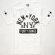 40OZ NYC New York Mens T-Shirt