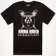 AURA GOLD Exploded Lion Mens T-Shirt